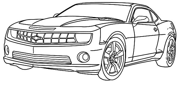 Chevy Camaro Cars Coloring Pages Best Place To Color Cars Coloring Pages Race Car Coloring Pages Camaro Car