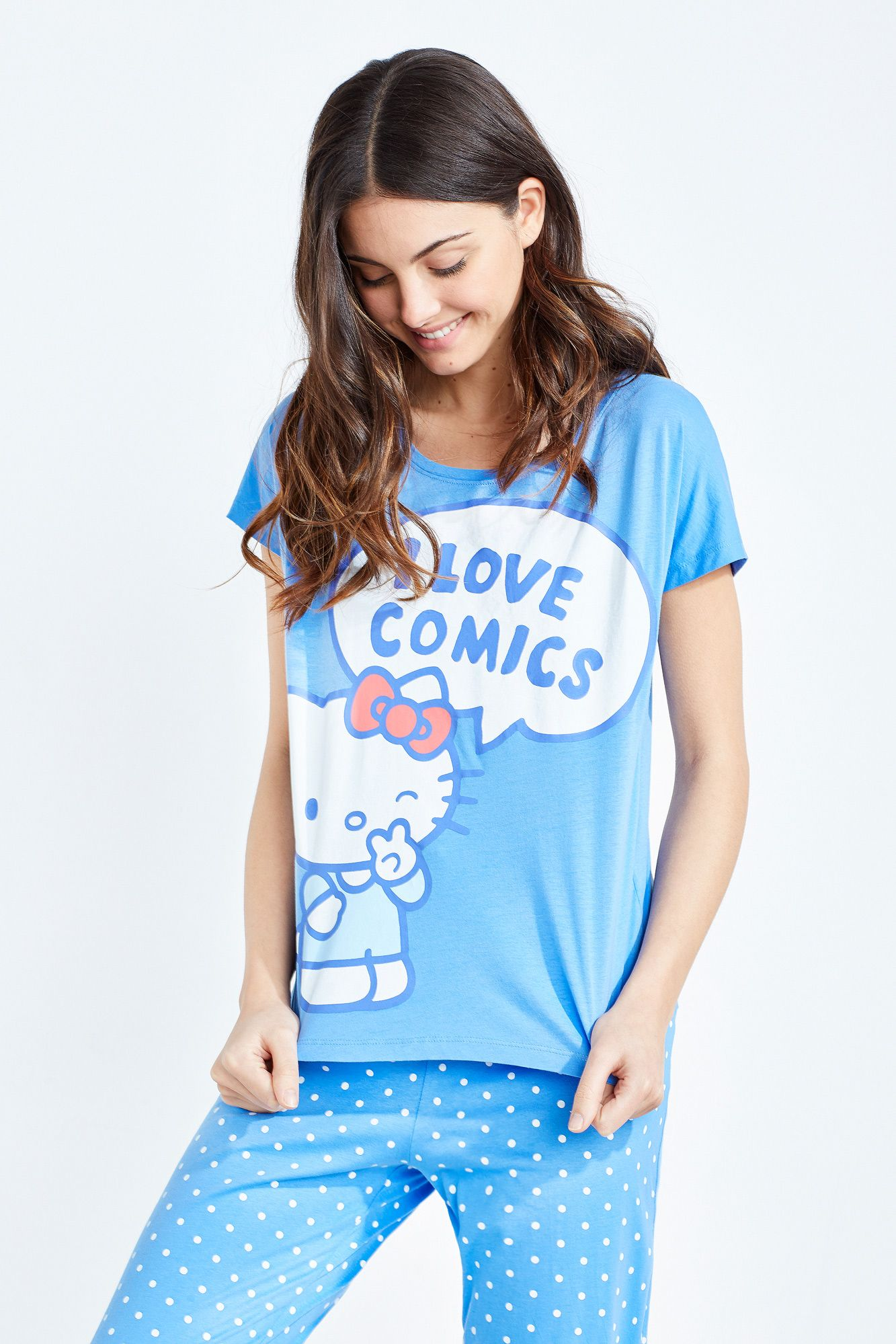 285da8171 Women'secret - Long Hello Kitty pyjama | HelloKittyholic ...