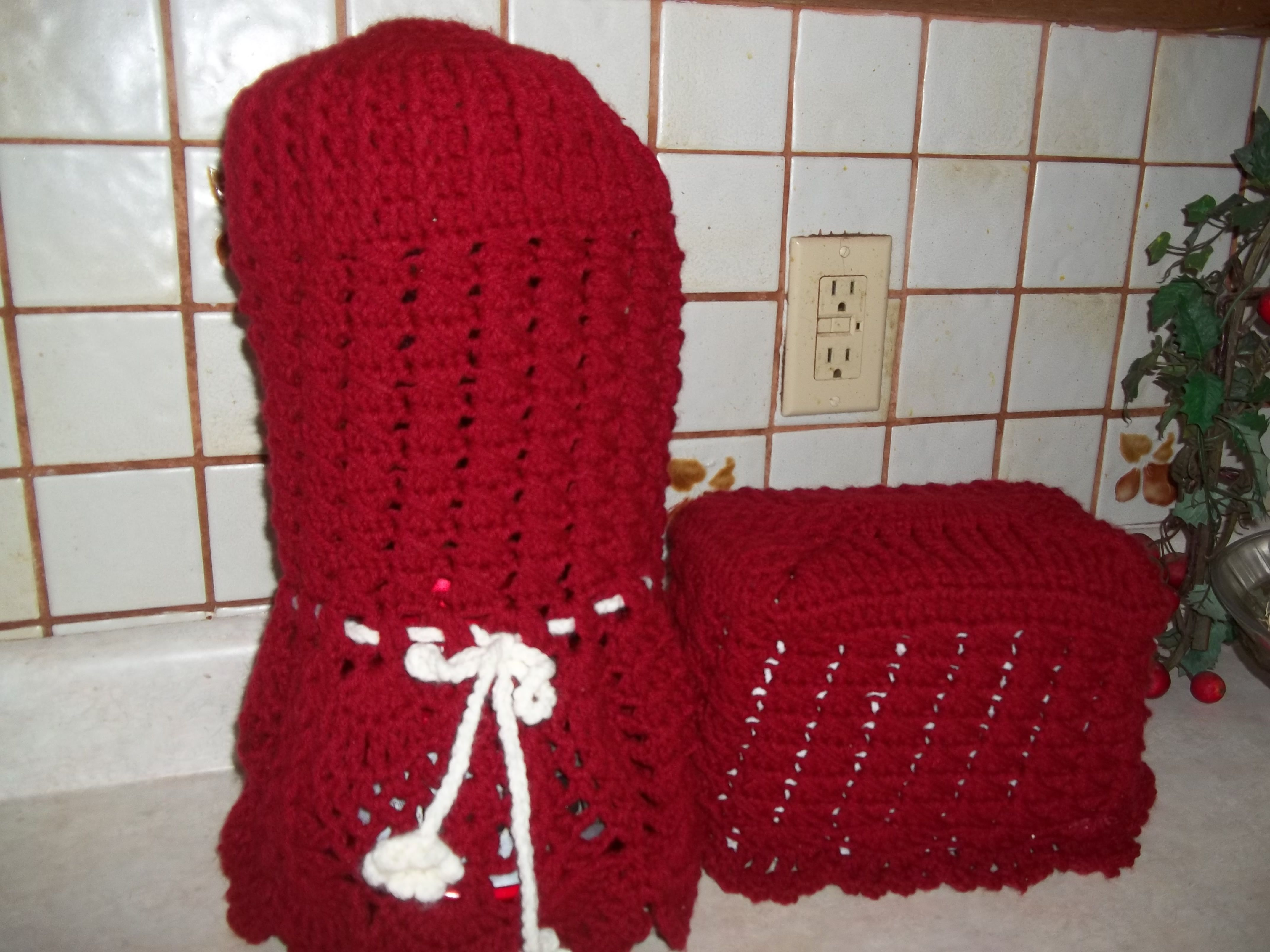 Crochet Blender And Toaster Covers For The Home Trippy Hippy Afghan Pattern Kingdom