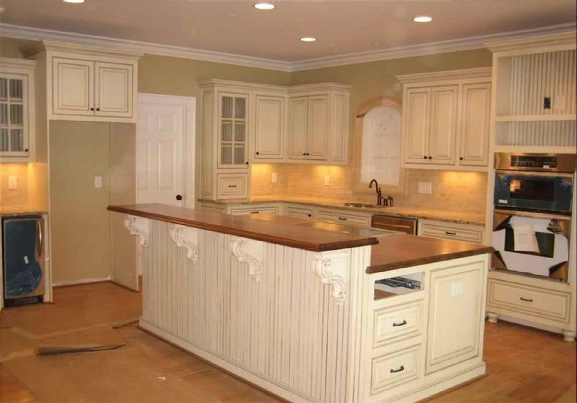 Fresh White Kitchen Cabinets With Brown Quartz Countertops The Awesome And Interesting White Kitch Distressed Kitchen Cabinets Kitchen Layout Kitchen Remodel