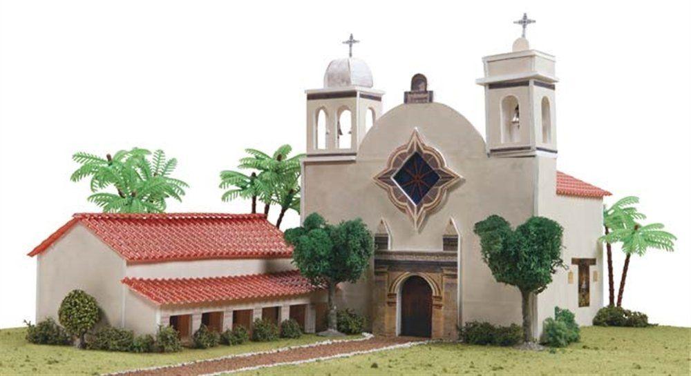 Hobbico California Mission San Carlos Borromeo De Carmelo ...
