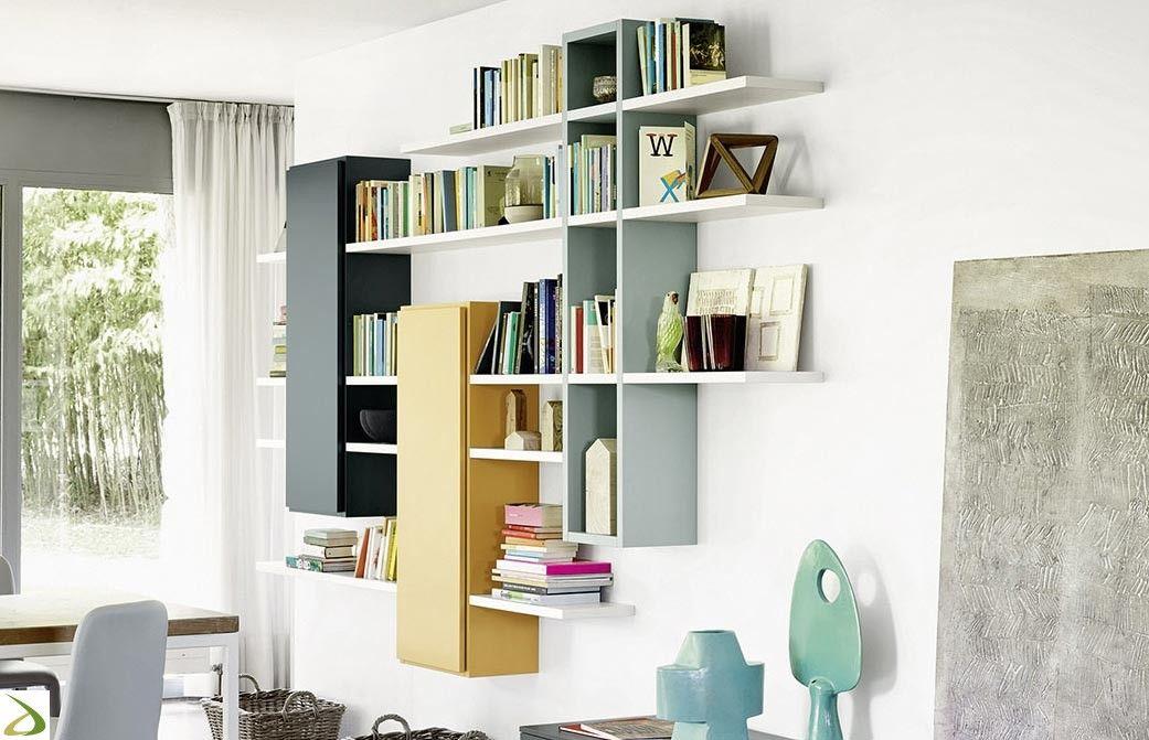 Libreria raffaello nel soggiorni home decor