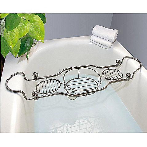 Taymor Imperial Bathtub Caddy With Antique Nickel Finish The