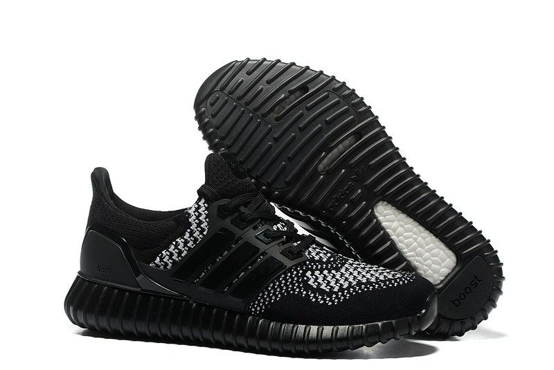 Adidas Yeezy Ultra Boost Unisex Running Shoe - Black/White
