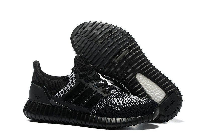 Adidas Yeezy Ultra Boost Unisex Running Shoe - Black/White � Adidas Shoes  MenYeezy ...