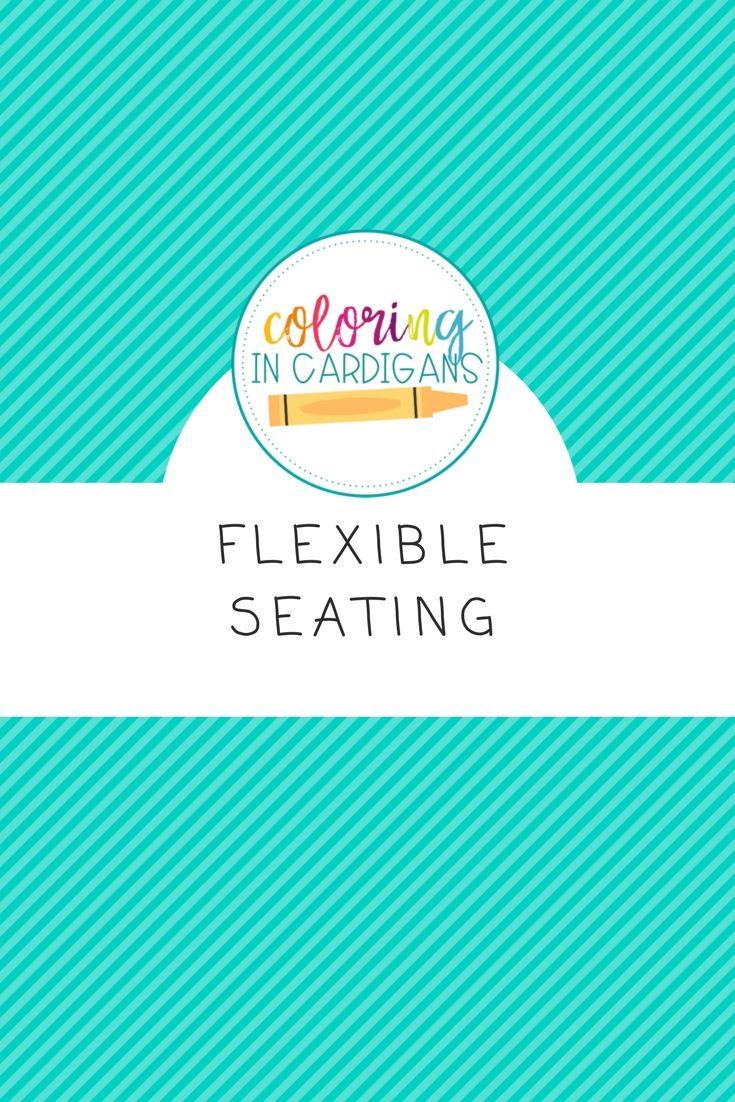 Flexible seating ideas for the classroom! Flexible