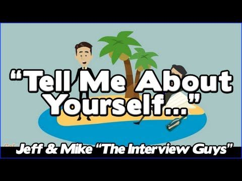 Elegant Tell Me About Yourself: Good Answer To This Tough Interview Question (Avoid  #1