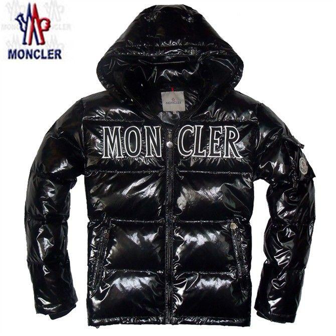 moncler man BLACK