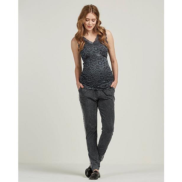 Nette Zwangerschapskleding.Positie Sweatpants Mode Voor Bijna Mama S Sweatpants Jumpsuit