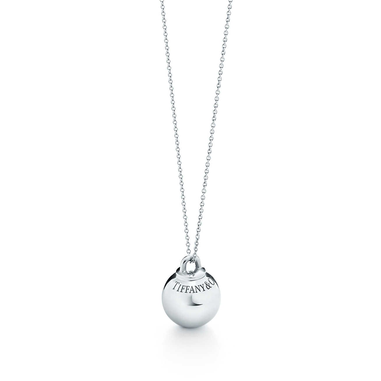 Tiffany hardwear ball pendant jewelery pinterest tiffany tiffany hardwear ball pendant aloadofball Images