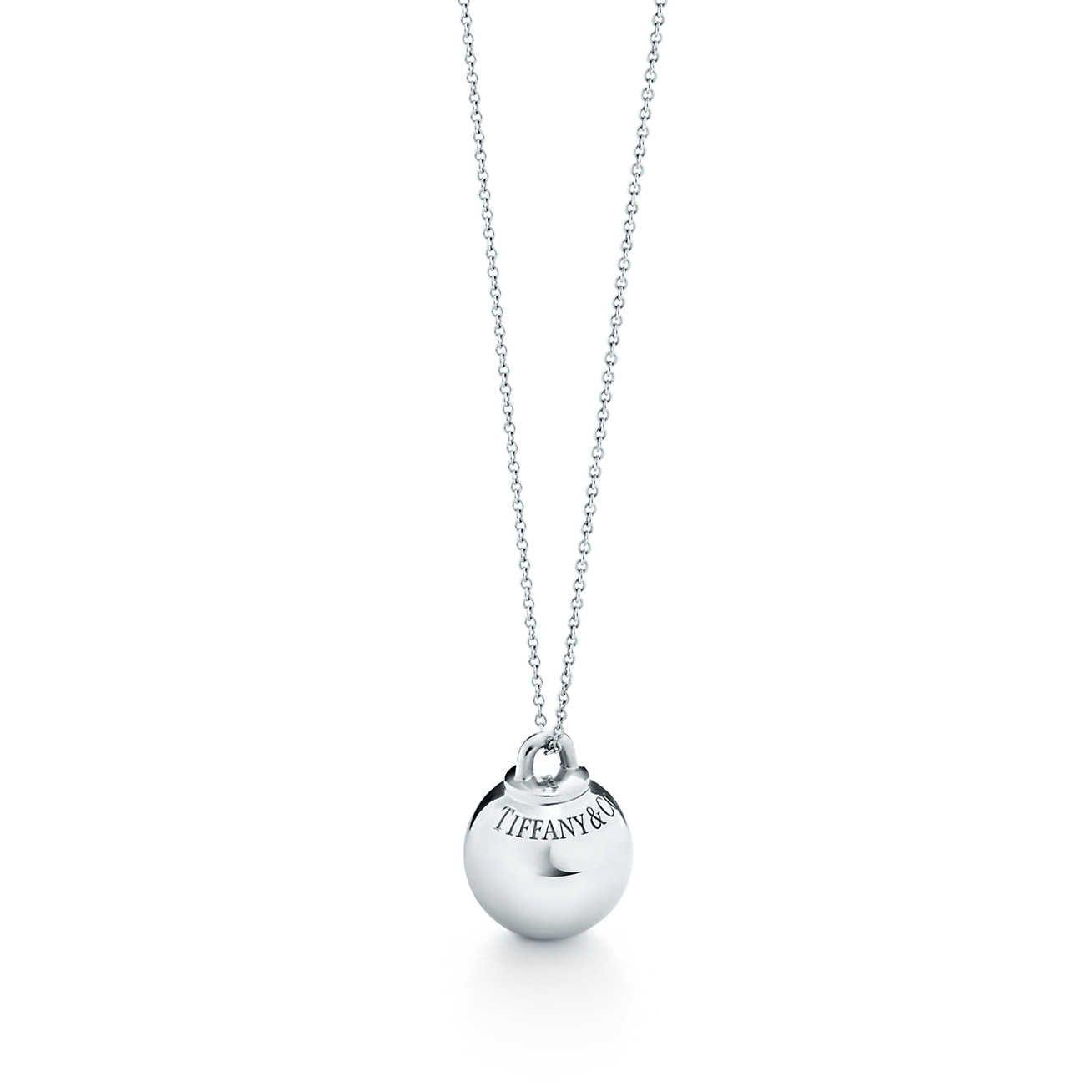 18kt yellow gold Tiffany City HardWear ball pendant necklace - Metallic Tiffany & Co. zyCx38Ceo