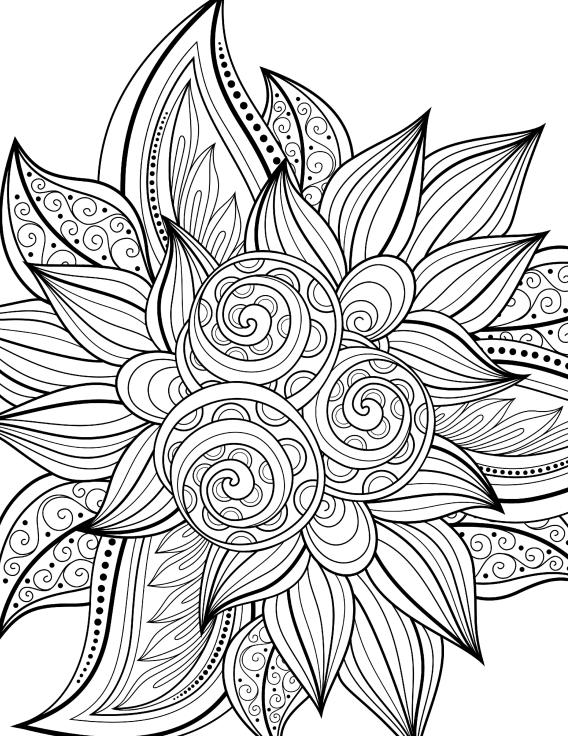 Libros de Colorear para Adultos | dibuixos | Pinterest | Colores ...
