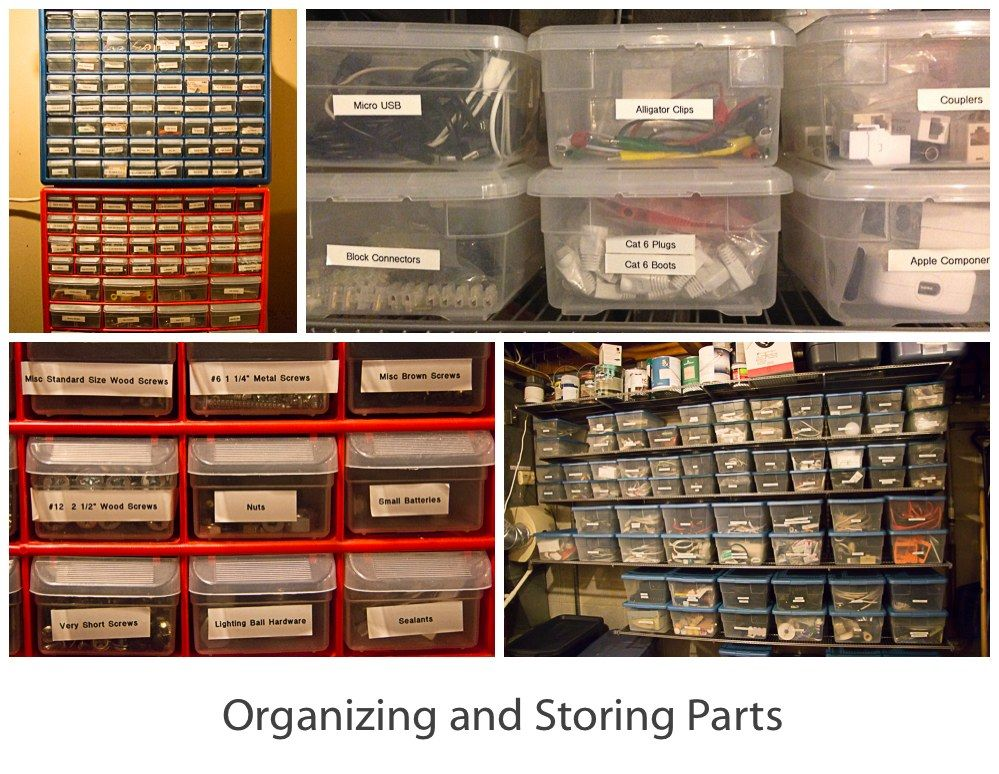 how to organize and store spare computer parts - Google ...