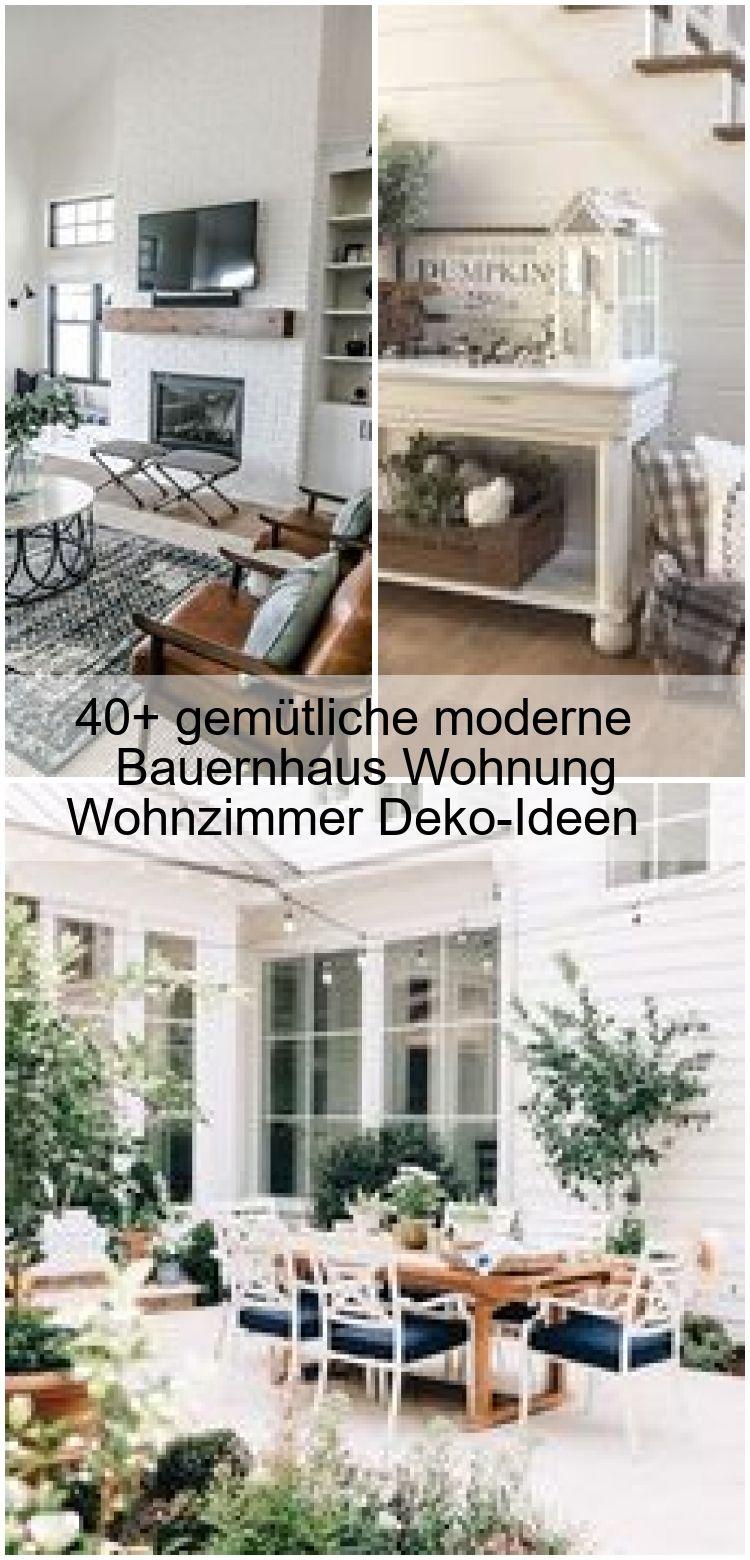 40 Gemutliche Moderne Bauernhaus Wohnung Wohnzimmer Deko Ideen