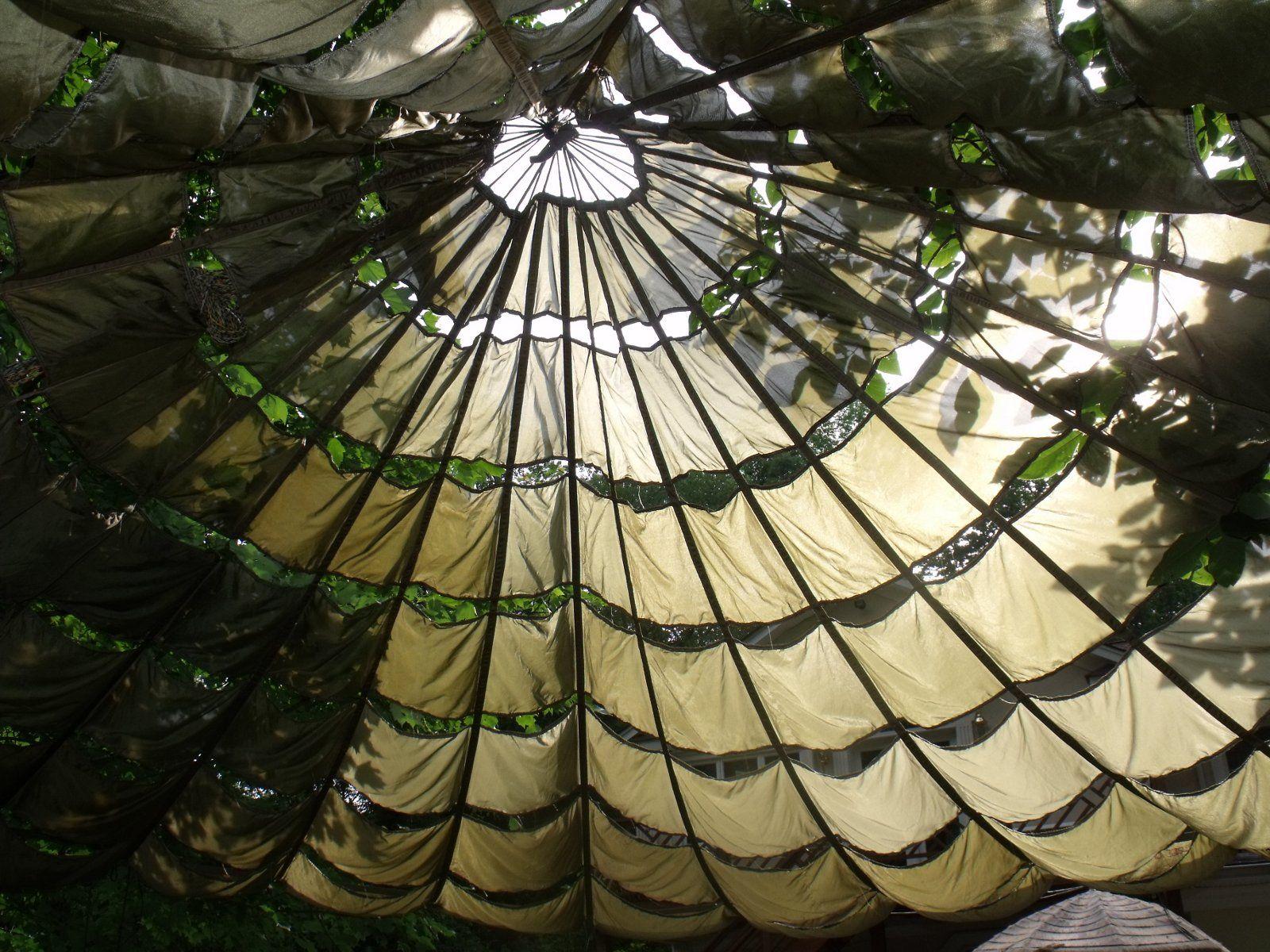 US Parachute Party Tent Garden Canopy Sun Shade Gazebo Wedding Patio Umbrella & US Parachute Party Tent Garden Canopy Sun Shade Gazebo Wedding ...