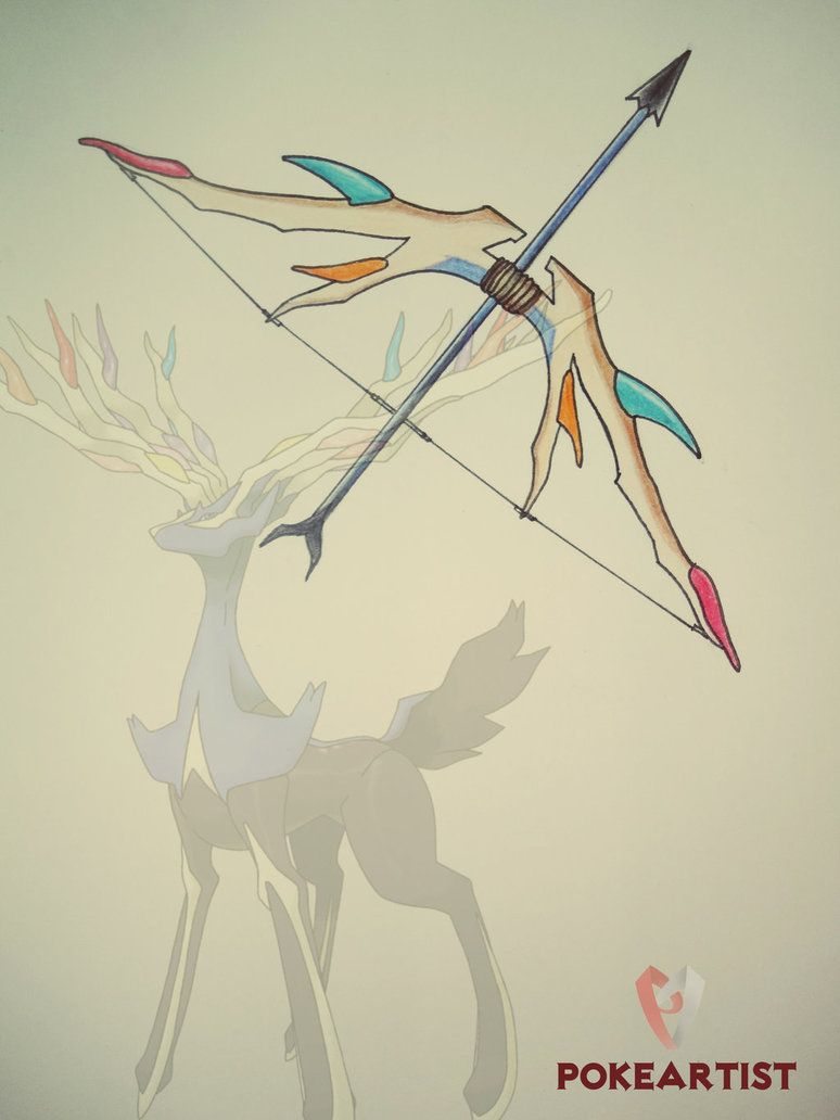 Xerneas Weapon By Xldollboylx On Deviantart Com Imagens