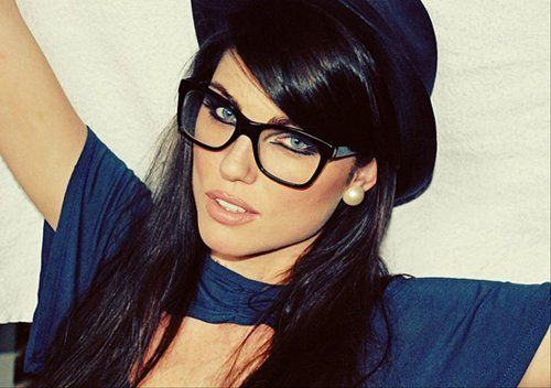 Naughty librarian glasses