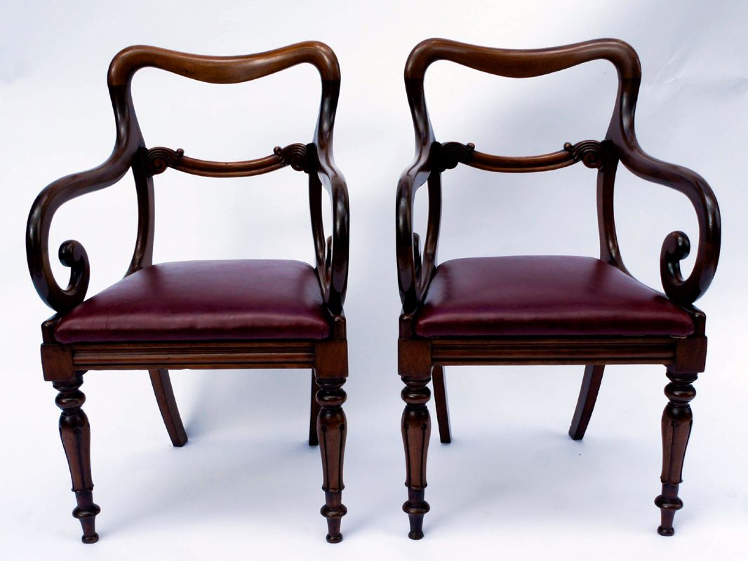 pair of antique mahogany desk chairs antique chairs pinterest