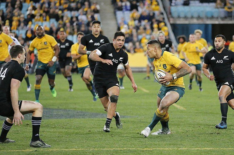 Izzy Gone For Good Ra Issues Folau With Breach Notice