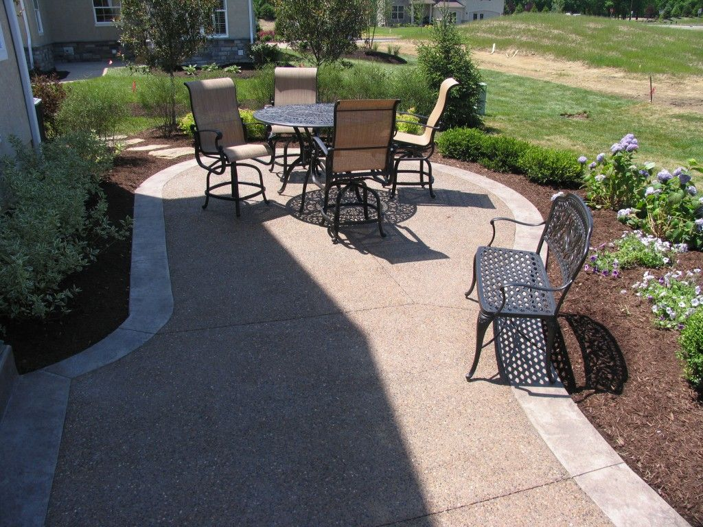 Exposed Aggregate Patios,driveways,porches, Pool Decks And Walkways | King  Concrete Increte