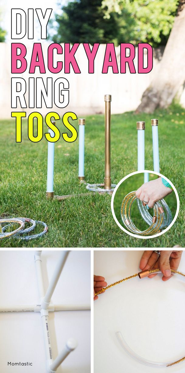 how to make washer ring toss game