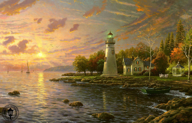 Красивые картины художника Томаса Кинкейда (Thomas Kinkade ...