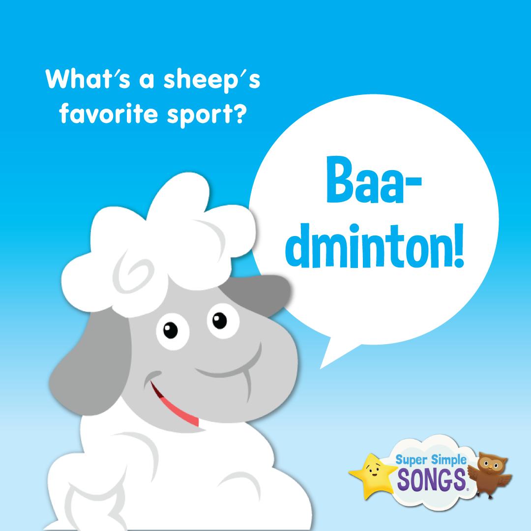 Q What S A Sheep S Favorite Sport A Baa Dminton