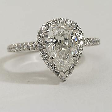 Brilliant Ring Settings For Pear Shaped Diamonds Ringscladdagh Short Hairstyles For Black Women Fulllsitofus