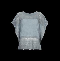 Review Oversize Shirt Mit Einsatzen Aus Spitze Shirts T Shirt Damen Marken T Shirts