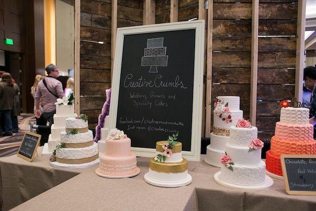 perfect wedding guide nashville, creative crumbs east nashville, nashville wedding show booths, #nashville, #wedding, #gettingmarriedinnashville