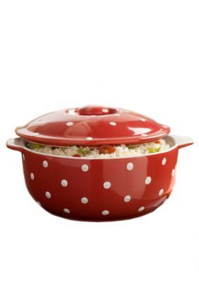 Cooks Tools   3-qt. Ceramic Casserole