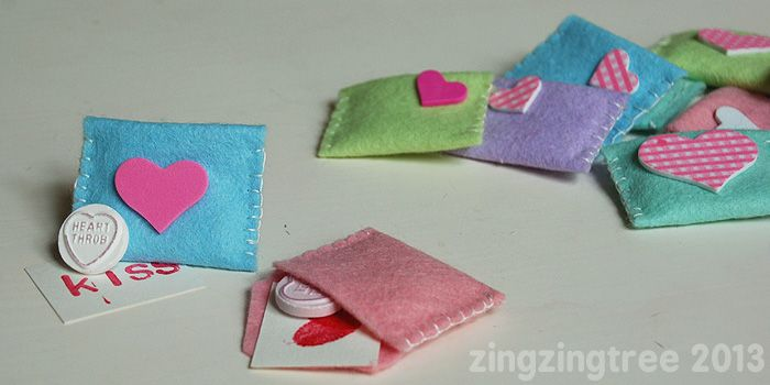 Envelopes de amor