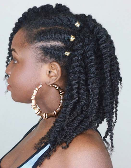 Beautiful Natural Hairstyles You Can Wear Anywhere Twist Out Hairstyle for Natural HairTwist Out Hairstyle for Natural Hair