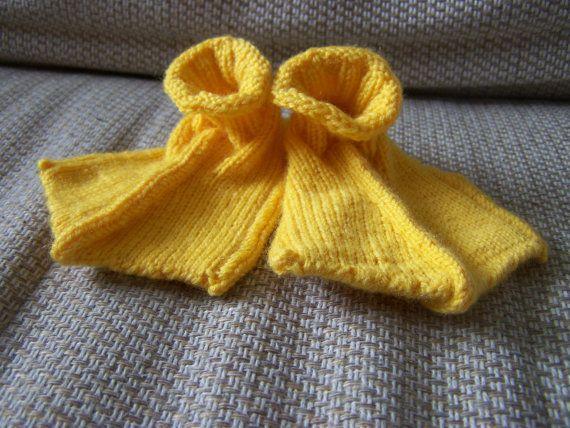 Hand Knitted Duck Feet