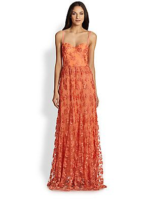 latest trends top quality los angeles Alice + Olivia Tyler Bustier Maxi Dress | Clothing | Dresses ...