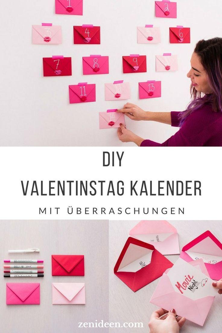 230 romantische Ideen + TOP 14 Geschenke zum Valentinstag 2018 -   19 diy basteln liebe ideas
