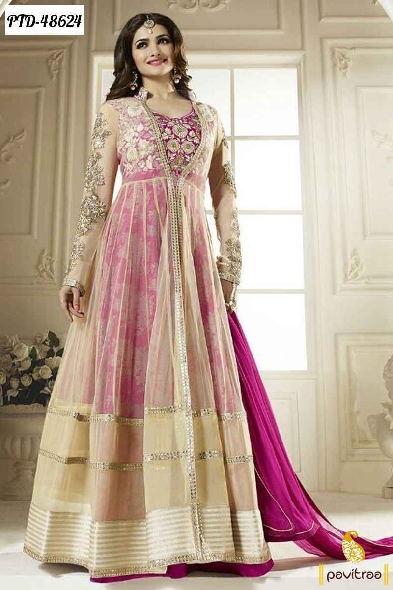 Wedding Bridal Latest Designer Anarkali Dresses and Salwar Suits ...