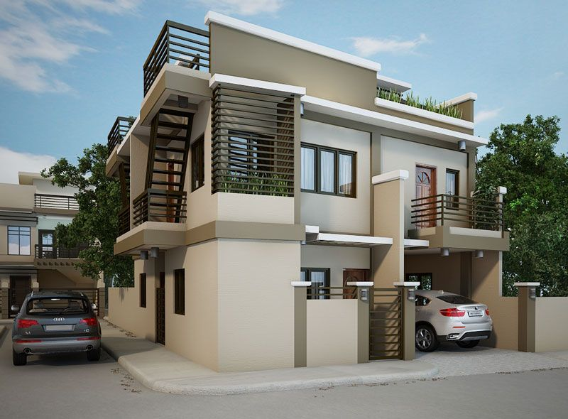 Two storey apartment building proposed small house design dream home modern also best images in future dining room rh pinterest
