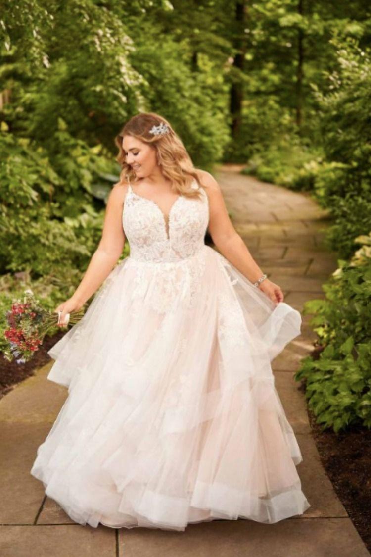Essense Of Australia D2893 Plus Size Wedding Dress Ball Gown Wedding Dress Plus Wedding Dresses Ball Gowns Wedding