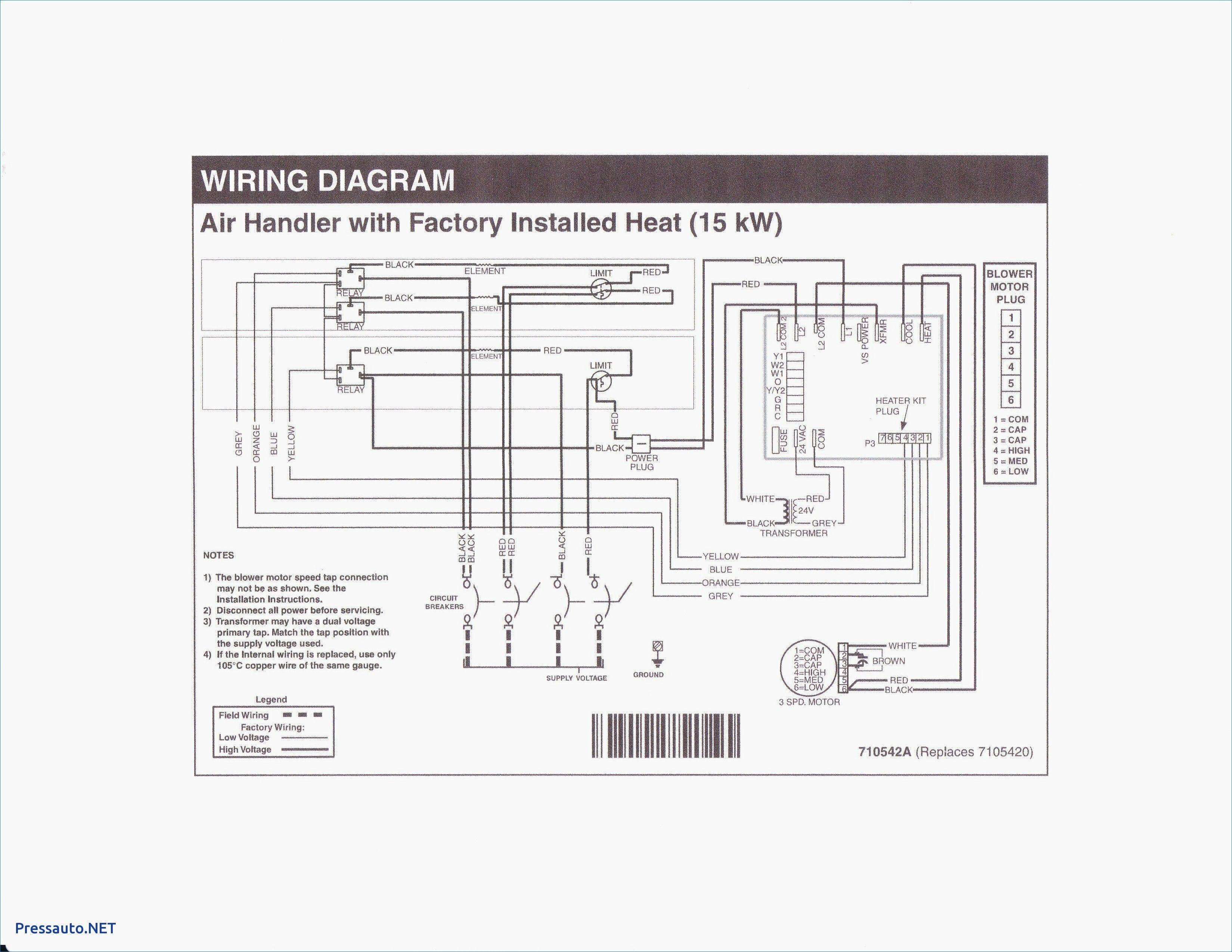 Unique Electric Furnace Blower Wiring Diagram Diagram