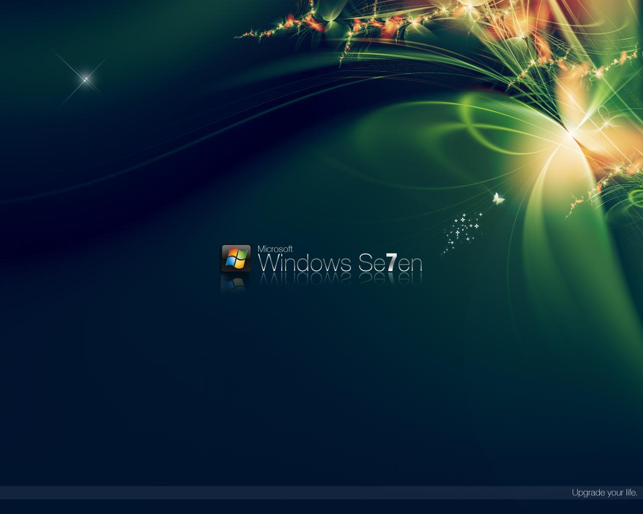 fondos de pantallas 3d windows xp y windows seven 7
