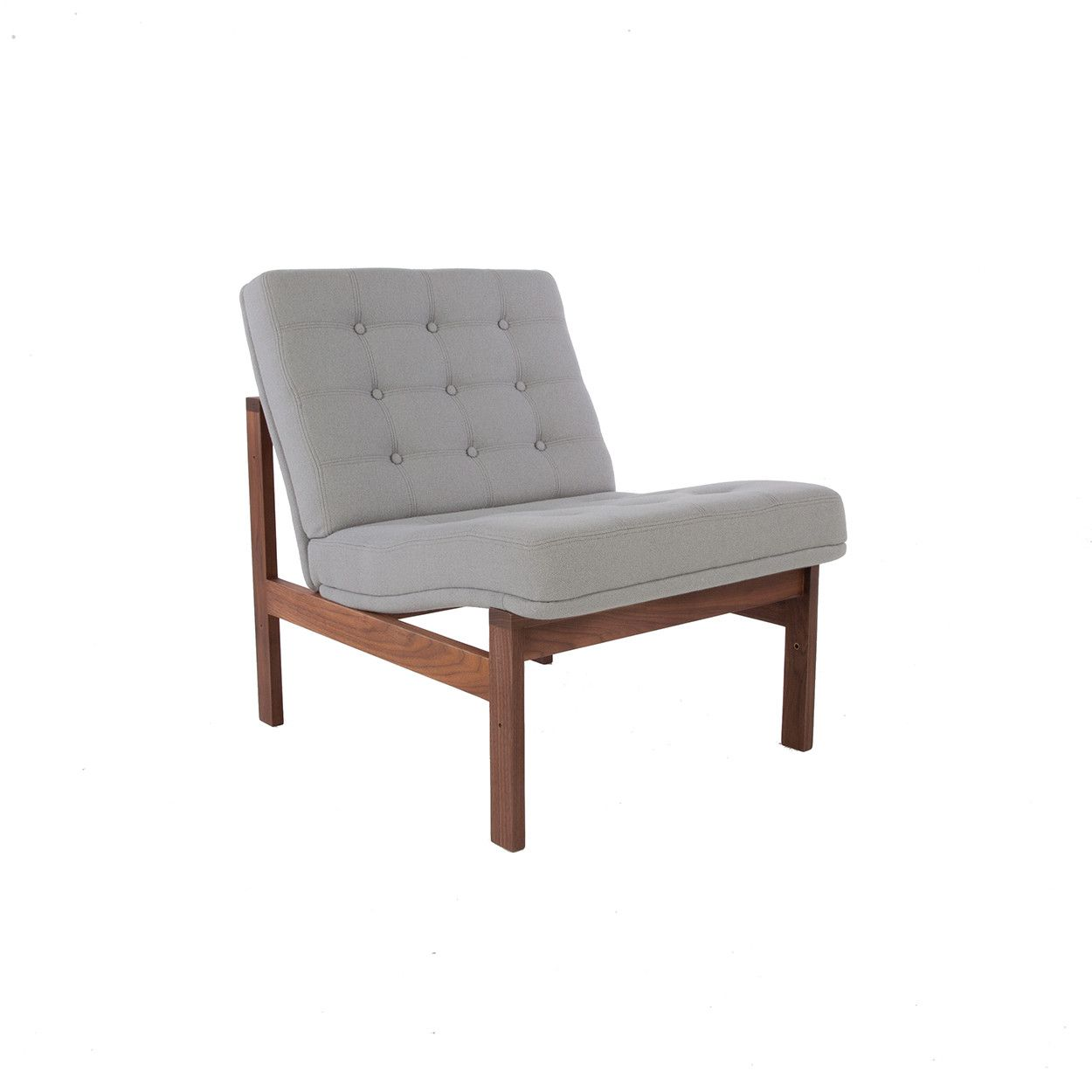 Mid-Century Modern Reproduction Moduline Sofa - Grey Inspired by Ole Gjerlov-Knudsen and Torben Lind
