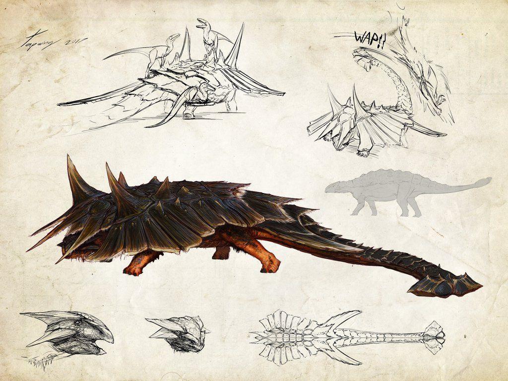 :hyperendocrin ankylosaurus: by Tapwing on DeviantArt