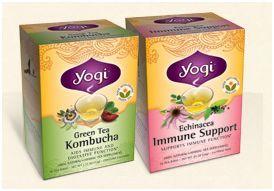 Love my Yogi Tea.