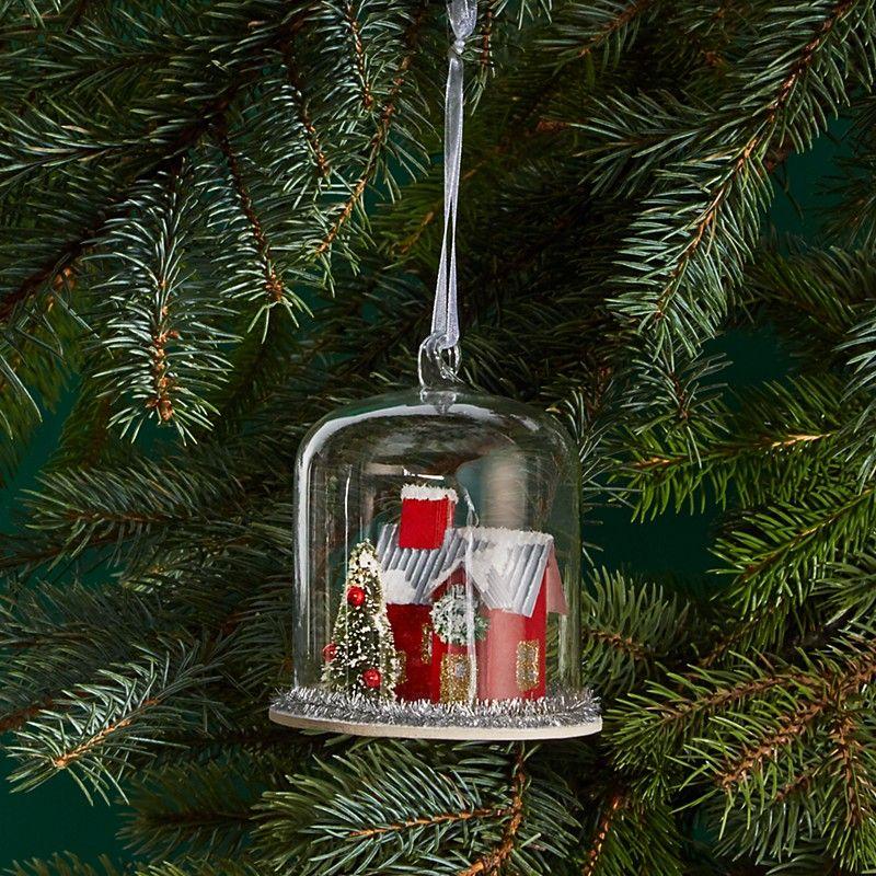 Bloomingdale's Glass Terrarium House Ornament - Bloomingdale's Glass Terrarium House Ornament It's Christmas