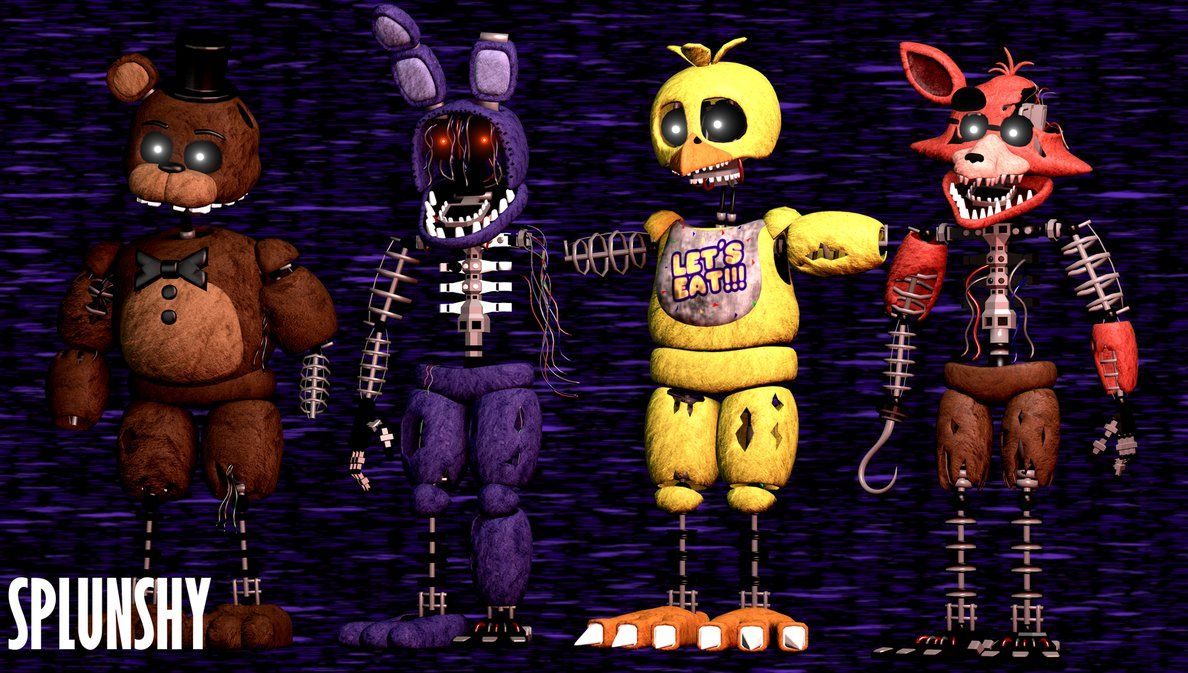 Tjoc R All Animatronics Characters 5 6k By Zeddreace On