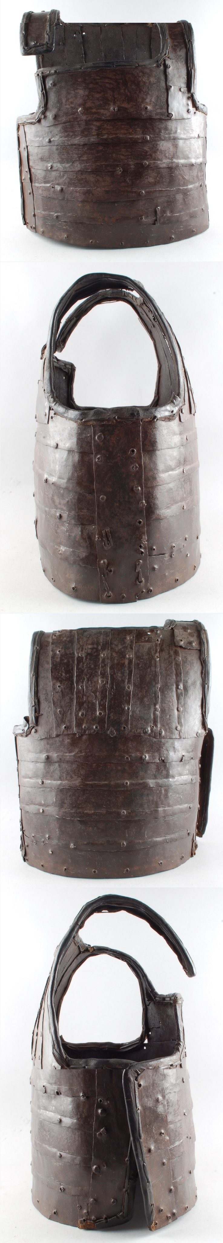 African cuirass, Bornu, iron and leather. The British Museum. The Bornu Empire (1380–1893) was a state of what is now northeastern Nigeria from 1380 to 1893. It was a continuation of the great Kanem Empire founded centuries earlier by the Sayfawa Dynasty. In time it would become even larger than Kanem, incorporating areas that are today parts of Chad, Niger and Cameroon.