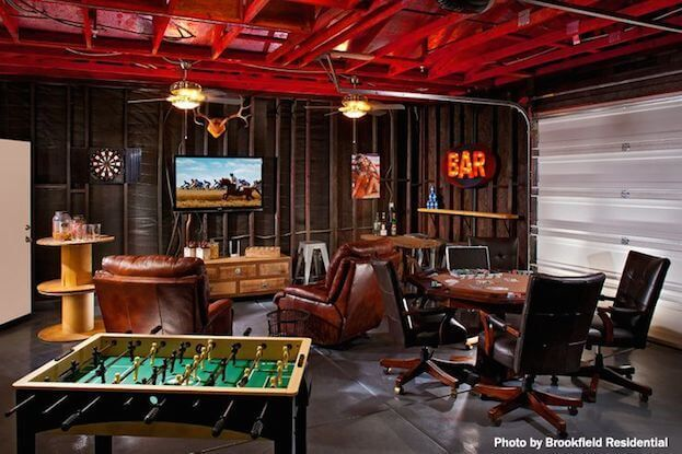How To Create A Man Cave Garage #mancave