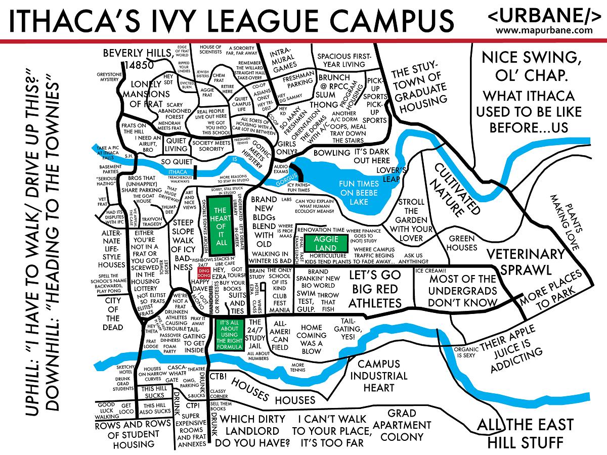 map of cornell campus Cornell University Cornell University University Life Campus Map map of cornell campus