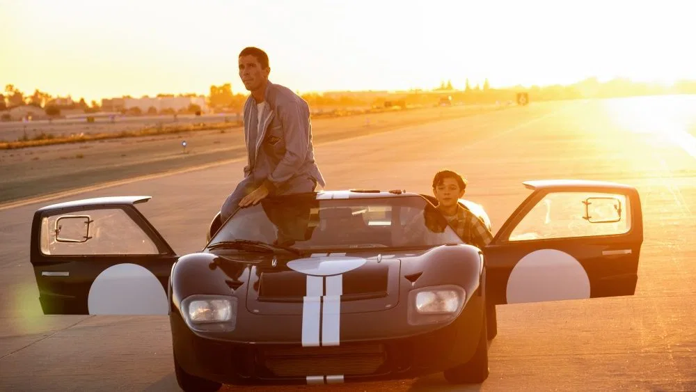 Ford V Ferrari Dp On How He Shot The Christian Bale Matt Damon